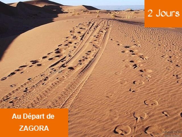 2 Jours et 1 nuit à Chegaga la mer des sables en 4x4