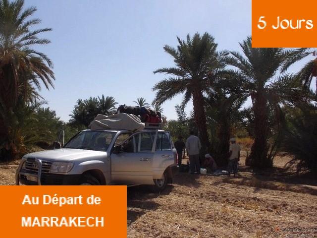 Circuit 5 jours Nomade libre Marrakech